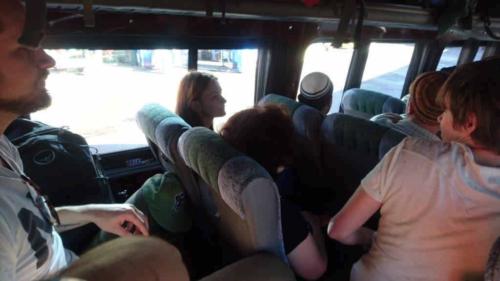 Minibus to Stepantsminda
