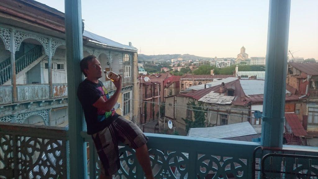 Drinking Jallu in Tbilisi