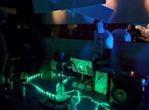 R2 DJing